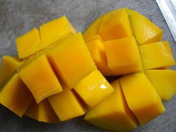 マンゴーの写真です。